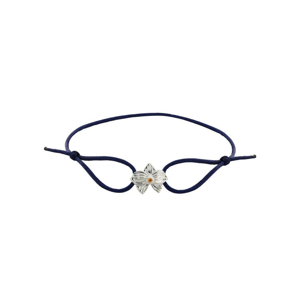 hello-dolly-sterling-silver-allyn's-orchid-cz-blue-silk-cord-bracelet
