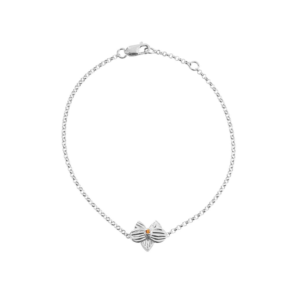 hello-dolly-sterling-silver-allyn's-orchid-cz-chain-bracelet